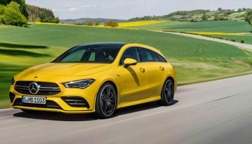 Νέα Mercedes-AMG CLA35 4Matic Shooting Brake
