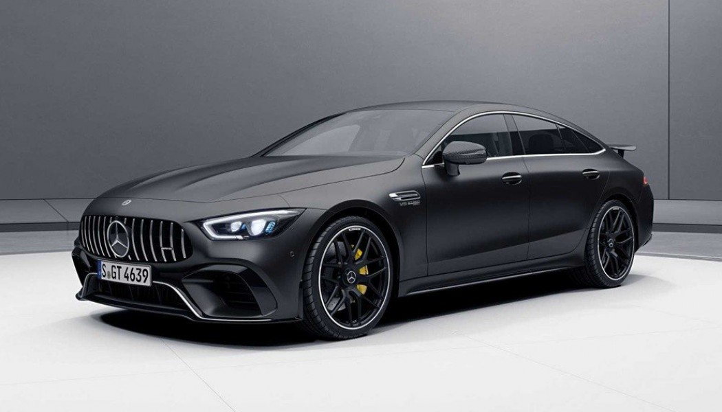 Η Mercedes-AMG GT 4-Door Coupe με aero pack (ΦΩΤΟ)
